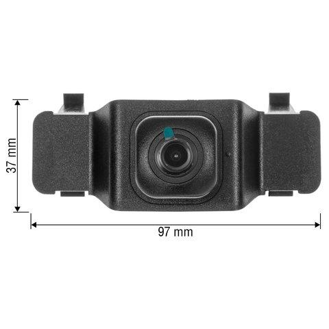 Камера переднього виду для Toyota Corolla 2019 р.в. Прев'ю 1