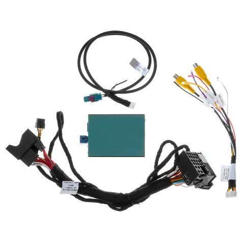 Front and Rear View Camera Connection Adapter for Mercedes-Benz with NTG5.0/5.1 System Preview 7