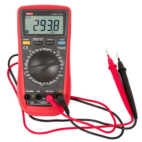 Цифровий мультиметр UNI-T UTM 1151G (UT151G) Прев'ю 2