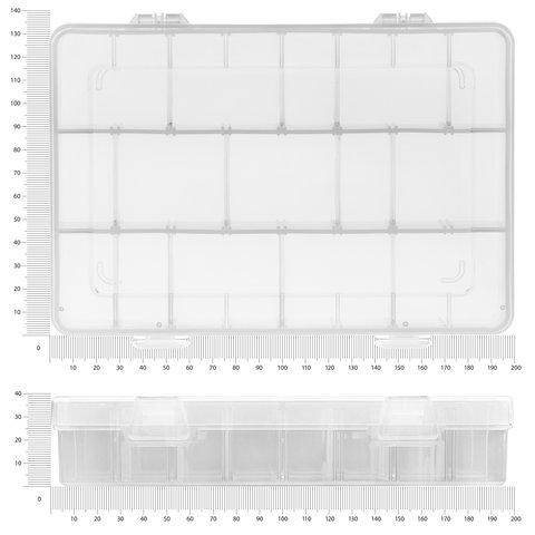 Кассетница для компонентов Pro'sKit 203-132E Превью 1