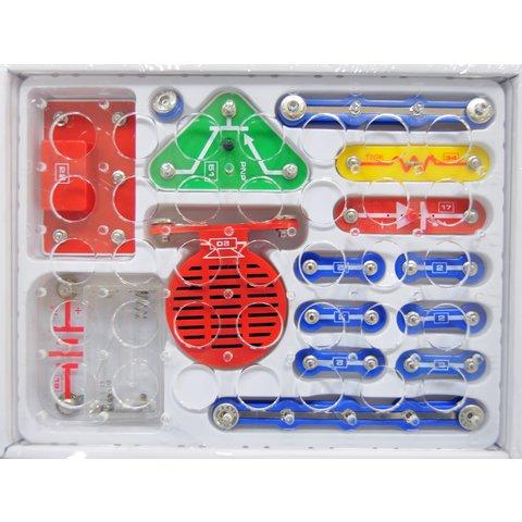 Электронный конструктор ЗНАТОК Первые шаги в электронике, Набор В, 15 схем - /*Photo|product*/