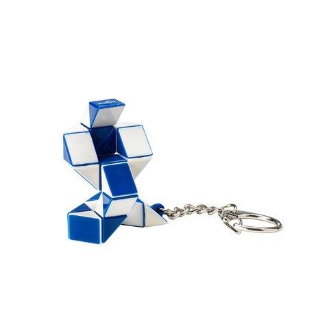 Міні-головоломка Кубік Рубіка Rubik's Змійка (біло-блакитна) Прев'ю 1